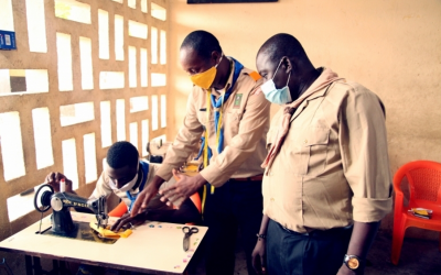 A network of global action starts locally: Scouting in response to a global pandemic