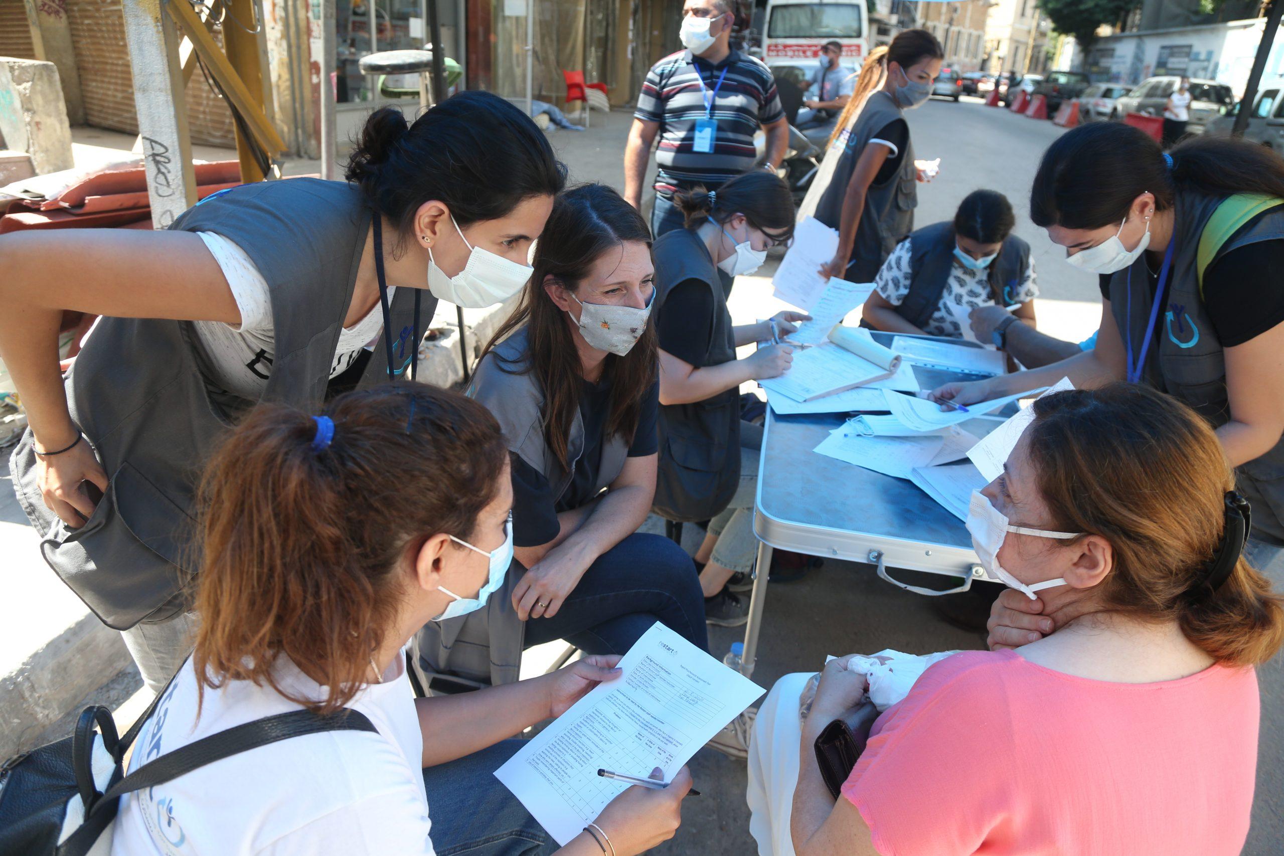 Dealing with the Past Program/ Beirut Blast Response/ Restart organization/ Mar Mikhael, Beirut